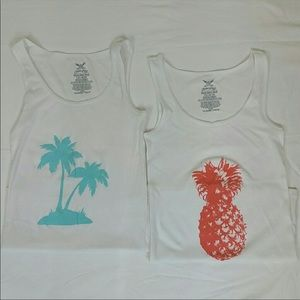 2 Faded Glory tank tops